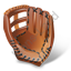 Baseball Glove Icon, PNG/ICO, 64x64