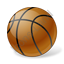 Basketball Ball Icon, PNG/ICO, 64x64