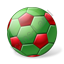 Beach Soccer Ball Icon, PNG/ICO, 64x64