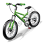 Bicycling Mountain Bike Icon, PNG/ICO, 64x64