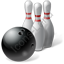 Bowling Pins Ball Icon