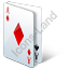 Casino Playing Cards 3D Icon