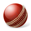 Cricket Ball Icon, PNG/ICO, 64x64