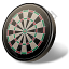 Darts Dartboard Icon