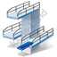 Diving Diving Tower Icon, PNG/ICO, 64x64
