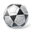 Futsal Ball Grey Icon, PNG/ICO, 64x64
