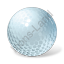 Golf Ball Icon, PNG/ICO, 64x64