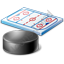 Ice Hockey Rink Puck Icon