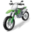 Moto Racing Motocross Motorcycle Icon