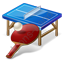 PingPong Table Racket Icon