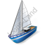 Sailing Yacht Icon