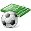 Soccer Field Ball Icon