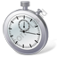 Stopwatch 3D Icon, PNG/ICO, 64x64