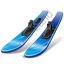 Water Skiing Skis Icon