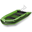 Watercraft Rowing Inflatable Boat Icon