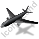Airliner Black Icon