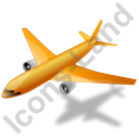 Airliner Yellow Icon