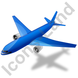 Airliner Blue Icon