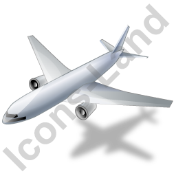 Airliner Grey Icon