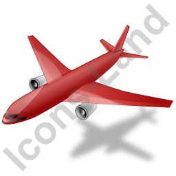 Airliner Red Icon