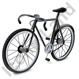 Bicycle Black Icon