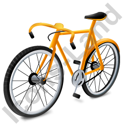 Bicycle Yellow Icon