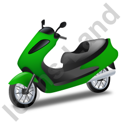 Scooter Green Icon