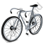 Bicycle Grey Icon