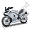 Motorcycle Grey Icon