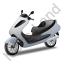 Scooter Grey Icon