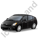 Hybrid Car Black Icon, PNG/ICO, 128x128