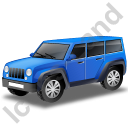 Jeep Blue Icon