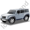 Jeep Grey Icon