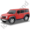 Jeep Red Icon