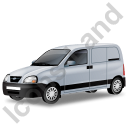 Panel Van Grey Icon, PNG/ICO, 128x128