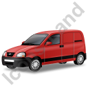 Panel Van Red Icon