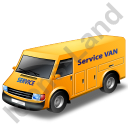 Service Van Yellow Icon