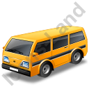 Van Yellow Icon