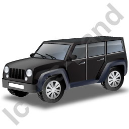 Jeep Black Icon