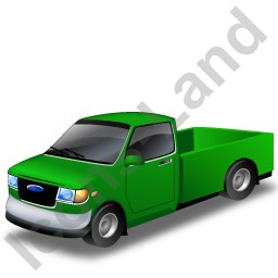 Pickup Green Icon