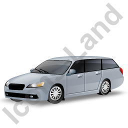 Station Wagon Grey Icon
