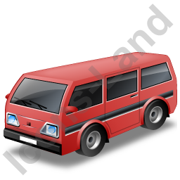 Van Red Icon