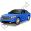 Executive Car Blue Icon, PNG/ICO, 64x64