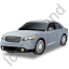 Executive Car Grey Icon, PNG/ICO, 64x64