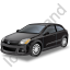 Hatchback Black Icon