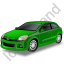Hatchback Green Icon