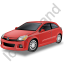 Hatchback Red Icon