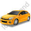 Hatchback Yellow Icon