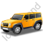 Jeep Yellow Icon