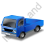 Minitruck Blue Icon